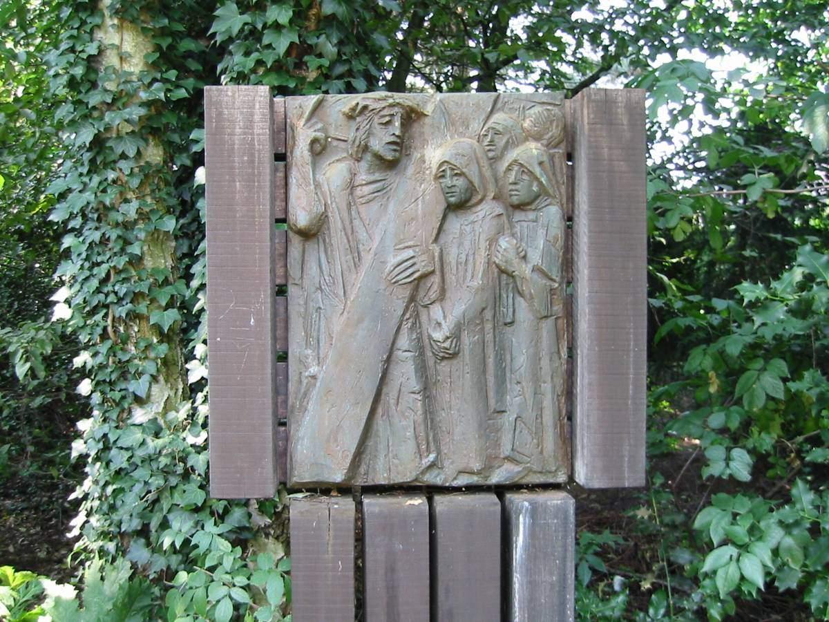 Außenkreuzweg der Pfarrgemeinde Liebfrauen in Stenern - Station 10