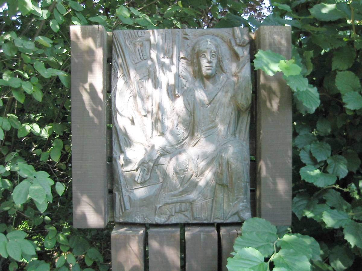 Außenkreuzweg der Pfarrgemeinde Liebfrauen in Stenern - Station 14