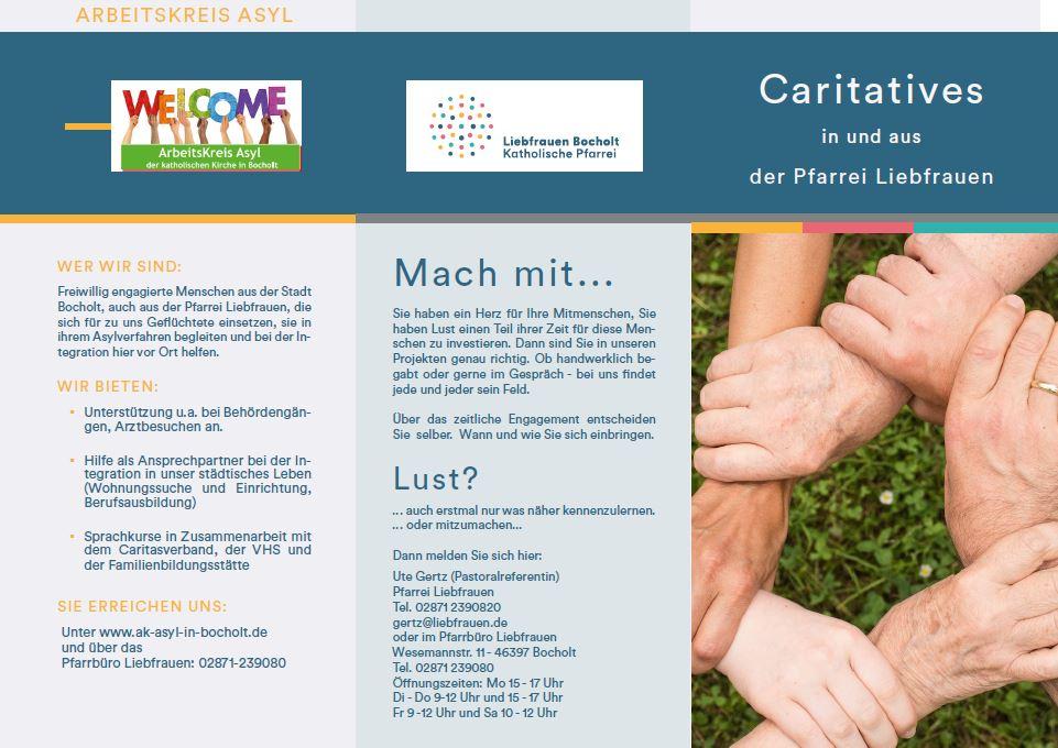 Caritas der Pfarrei Liebfrauen Bocholt