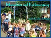 """Marienfeier und Segnung der Kinder im """"St. Marien-Kindergarten"""""""