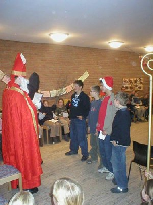 Nikolausfeier der Gruppenkinder