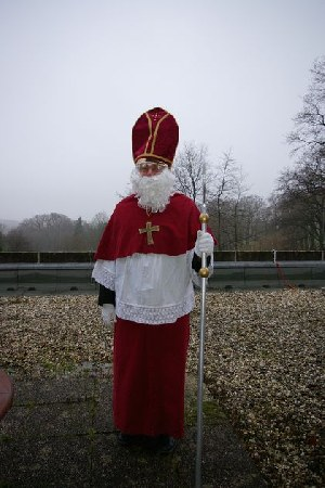 Der Nikolaus Norbert im Kloster Gerleve