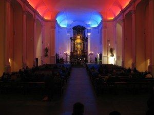 Bilder der ökumenischen Kirchennacht