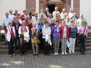 Kirchenchor Liebfrauen unterwegs im Weserbergland