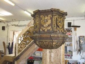 Restaurierung-der-barocken-Kanzel-der-Liebfrauenkirche