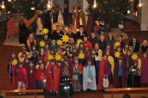 Sternsingeraktion 2012 in Herz-Jesu