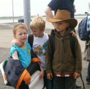 Ferienlager Ameland - Mit guter Stimmung angekommen