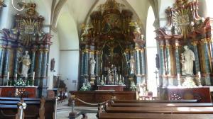 Tagesausflug  des Kirchenchores Herz-Jesu nach Zwillbrock und zu Pfr. Weidemann, Vreden-Lünten