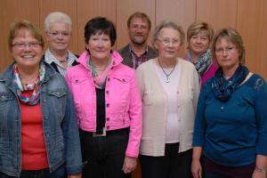 Neuer Vorstand des Kirchenchores St. Helena