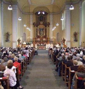 Jubiläum - 100 Jahre Erweiterung der Liebfrauenkirche