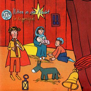 """""""Mitten in der Nacht"""" - so lautete das diesjährige Krippenspiel des Kinderchores Herz-Jesu"""