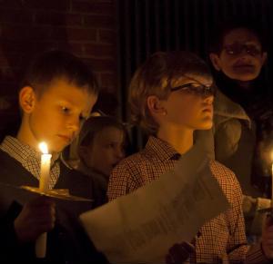 Kinderkrippenfeier in Stenern