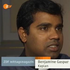 ZDF-Bericht über Benjamine Gaspar