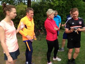 Liebfrauen …. läuft: Probetraining zum Citylauf