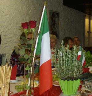 Italienischer Abend bei der kfd