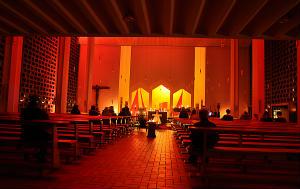 Taizé-Gottesdienst der Messdiener in der Herz-Jesu-Kirche