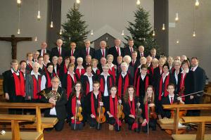 """""""Halleluja"""" – sangen die Kirchenchöre Herz-Jesu u. St. Pius am 2. Weihnachtstag zugleich 50-jähriges Bestehen der Stephanusschützen in Herz-Jesu"""