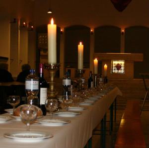 Vom Fest zur Abendmahlfeier Jesu