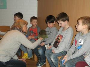 """Biblisches Projekt im Familienzentrum Herz Jesu: """"Die Hosentaschenbibel"""""""