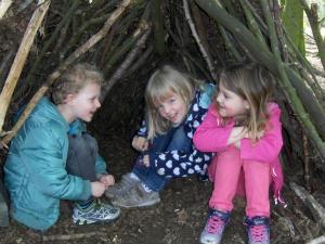 Waldtag der Hl. Kreuz Kitakinder