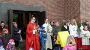 Palmsonntaggottesdienst in der Hl. Kreuz Kirche