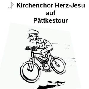 Pättkestour mit dem Kirchenchor Herz-Jesu