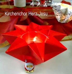 Adventsfeier des Kirchenchores Herz-Jesu