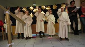 Das Geschenk des Himmels - Kinderchor Herz-Jesu singt und spielt im Käthe-Kollwitz-Haus