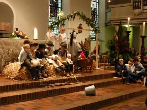 Krippenspiel am Heiligen Abend in der St. Helena Kirche