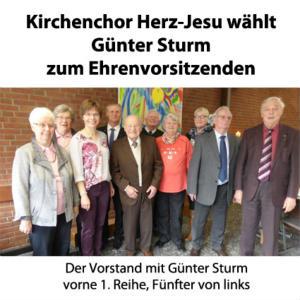 Jahreshauptversammlung des Kirchenchores Herz-Jesu mit traditionellem Grünkohlessen
