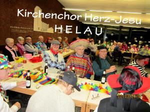 Karneval beim Kirchenchor Herz-Jesu