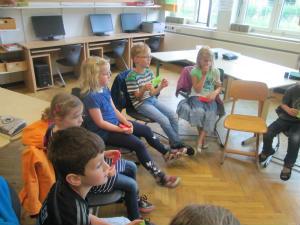 Schulbesuch der Vorschulkinder aus der Kita St. Helena in der Barloer Grundschule