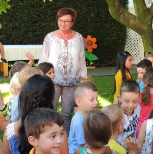 Die Kita St. Theresia  verabschiedet sich von Doris Schlüter