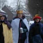 """""""20+C+M+B+17""""- Sternsinger bei Schnee und Kälte unterwegs - Liebfrauen Bocholt"""