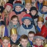 Königskinder beim Dankgottesdienst - Liebfrauen Bocholt