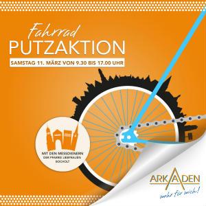 Fleißige Messdiener für saubere Fahrräder