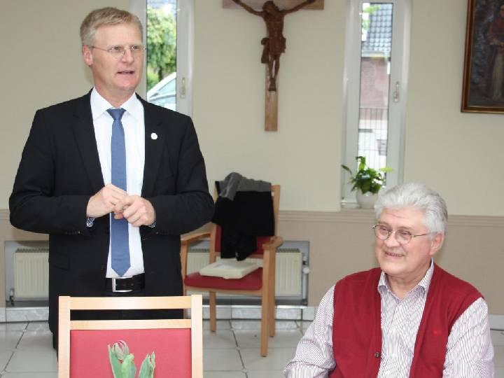 Reinhold Ihorst wurde vom Diepenbrockstift in den Ruhestand verabschiedet