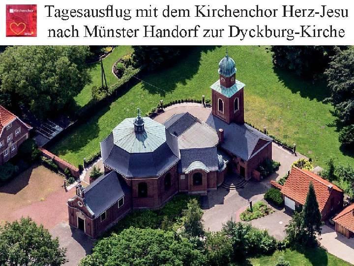 Chorfahrt 2017 des Herz-Jesu Kirchenchores