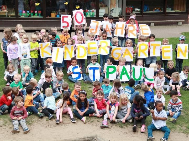 Gemeindefest und 50 Jahre Kita St. Paul
