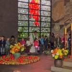 Die Kinder der Kita St. Paul feiern Erntedank