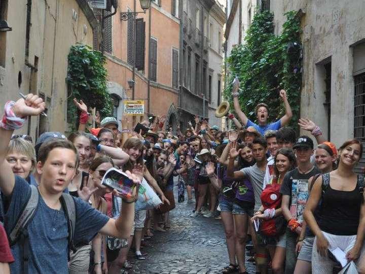 Messdienerwallfahrt Rom 2018 im Dekanat Bocholt
