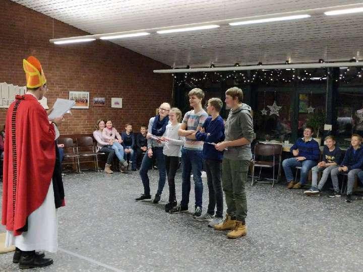 Hoher Besuch trotz Schneesturm! | Nikolausfeier 2017