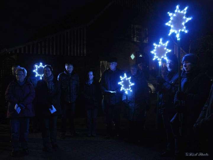 Dunkle Nächte  - helle Sterne.