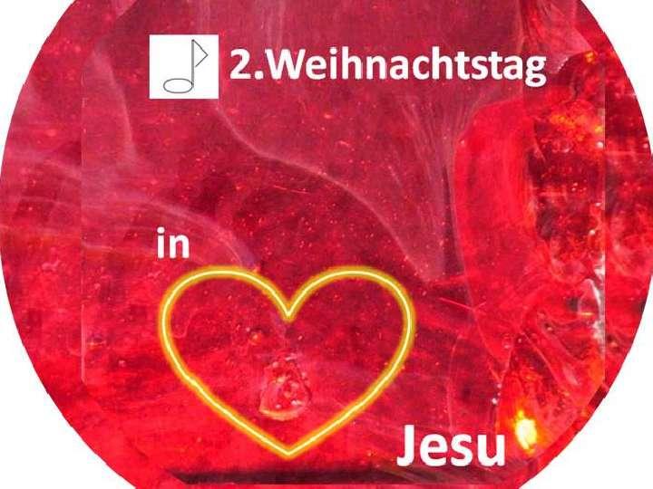 2. Weihnachtstag mit dem Kirchenchor Herz-Jesu und Bläserensemble