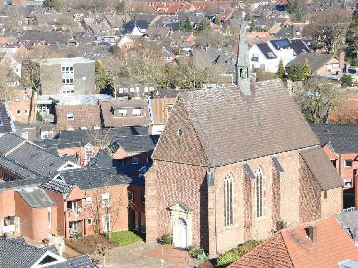 Die St.-Agnes-Kapelle am Diepenbrockstift wird renoviert