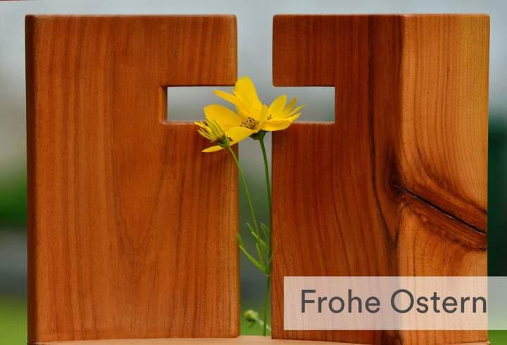 Frohe Ostern - Der Herr ist auferstanden - Halleluja