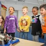 Hl.Kreuz Vorschulkinder forschen zum Thema Umweltschutz