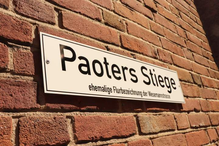 Paoters Stiege eingeweiht