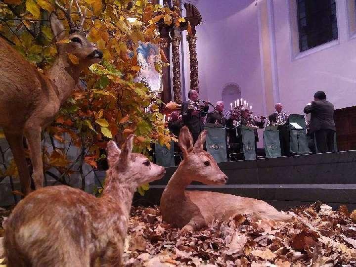 Stimmungsvolle Hubertusmesse in der Liebfrauenkirche