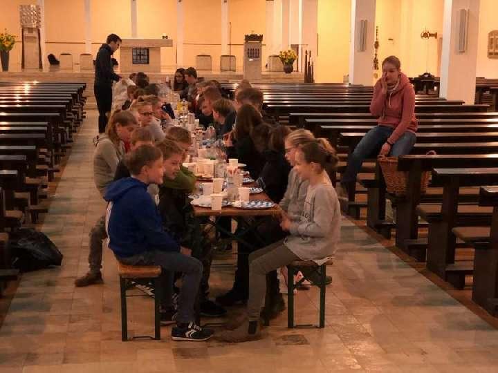Kirchenübernachtung der Messdiener